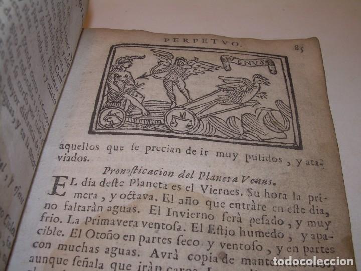 Libros antiguos: PRIMERA EDICION DEL AÑO 1713.EL NON PLUS ULTRA DEL LUNARIO Y PRONOSTICO PERPETUO.... TAPAS PERGAMINO - Foto 17 - 142463270