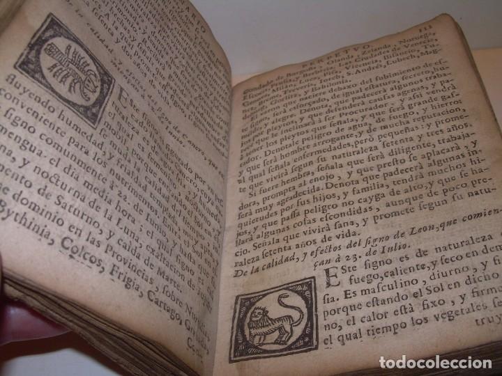 Libros antiguos: PRIMERA EDICION DEL AÑO 1713.EL NON PLUS ULTRA DEL LUNARIO Y PRONOSTICO PERPETUO.... TAPAS PERGAMINO - Foto 20 - 142463270