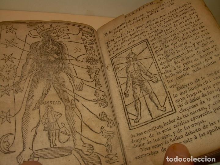 Libros antiguos: PRIMERA EDICION DEL AÑO 1713.EL NON PLUS ULTRA DEL LUNARIO Y PRONOSTICO PERPETUO.... TAPAS PERGAMINO - Foto 23 - 142463270
