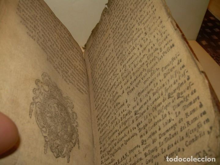 Libros antiguos: PRIMERA EDICION DEL AÑO 1713.EL NON PLUS ULTRA DEL LUNARIO Y PRONOSTICO PERPETUO.... TAPAS PERGAMINO - Foto 24 - 142463270