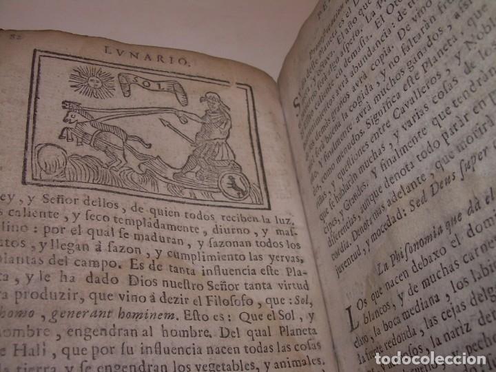 Libros antiguos: PRIMERA EDICION DEL AÑO 1713.EL NON PLUS ULTRA DEL LUNARIO Y PRONOSTICO PERPETUO.... TAPAS PERGAMINO - Foto 30 - 142463270