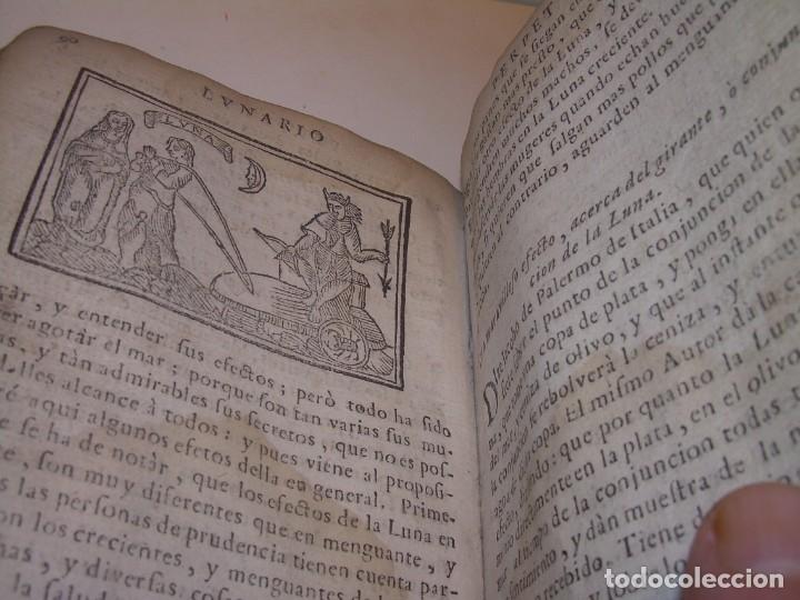 Libros antiguos: PRIMERA EDICION DEL AÑO 1713.EL NON PLUS ULTRA DEL LUNARIO Y PRONOSTICO PERPETUO.... TAPAS PERGAMINO - Foto 29 - 142463270