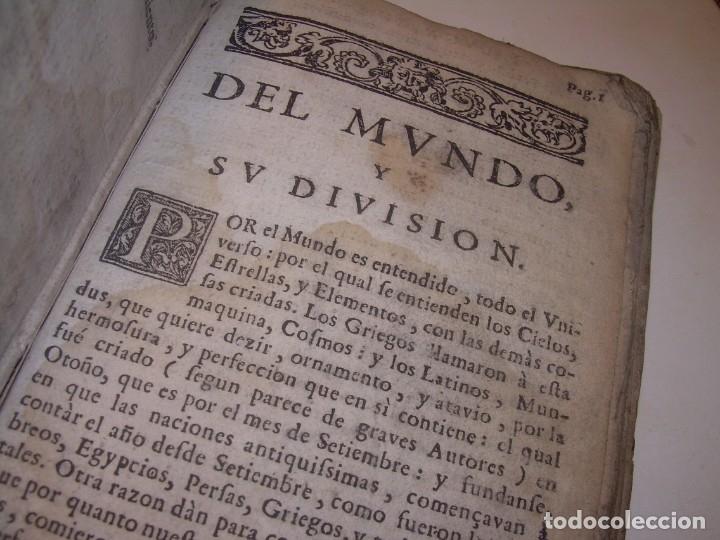 Libros antiguos: PRIMERA EDICION DEL AÑO 1713.EL NON PLUS ULTRA DEL LUNARIO Y PRONOSTICO PERPETUO.... TAPAS PERGAMINO - Foto 33 - 142463270