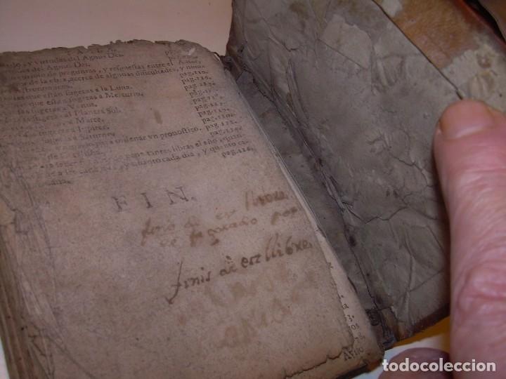Libros antiguos: PRIMERA EDICION DEL AÑO 1713.EL NON PLUS ULTRA DEL LUNARIO Y PRONOSTICO PERPETUO.... TAPAS PERGAMINO - Foto 35 - 142463270