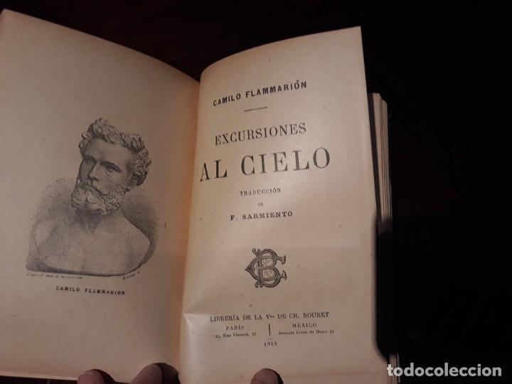 Libros antiguos: FLAMMARION - NARRACIONES Y CURIOSIDADES EDITADO EN 1911 LIBRERIA DE LA VIUDA DE CH BOURET MEXICO - Foto 2 - 142745482
