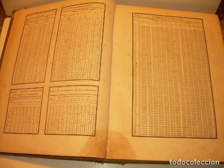Libros antiguos: LIBRO .TABLAS DE MENDOZA PARA EL USO DE LA NAVEGACION Y ASTRONOMIA NAUTICA.AÑO 1863 - Foto 15 - 142795290