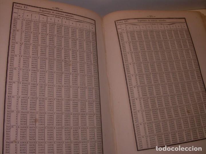 Libros antiguos: LIBRO .TABLAS DE MENDOZA PARA EL USO DE LA NAVEGACION Y ASTRONOMIA NAUTICA.AÑO 1863 - Foto 18 - 142795290