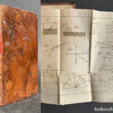 Libros antiguos: 1824 - INSTITUTIONUM ELEMENTARUYM - ASTRONOMIA - GRABADOS - GUANAJUATO. Lote 143073562