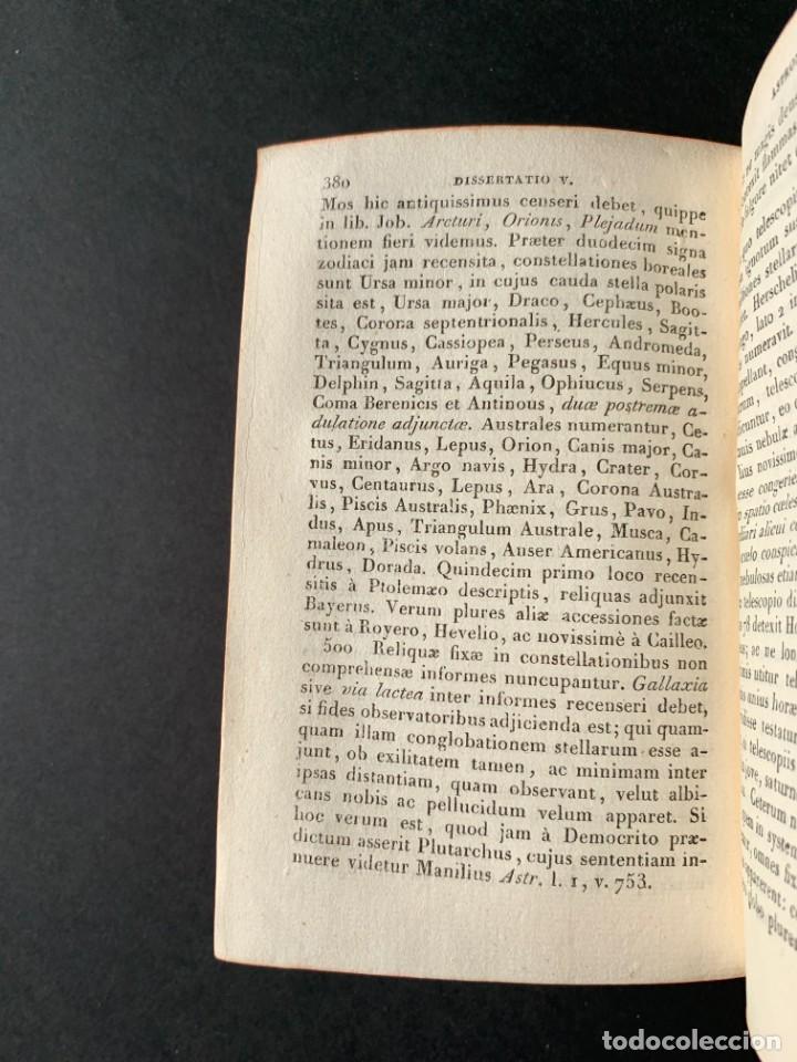 Libros antiguos: 1824 - Institutionum Elementaruym - Astronomia - Grabados - Guanajuato - Foto 9 - 143073562
