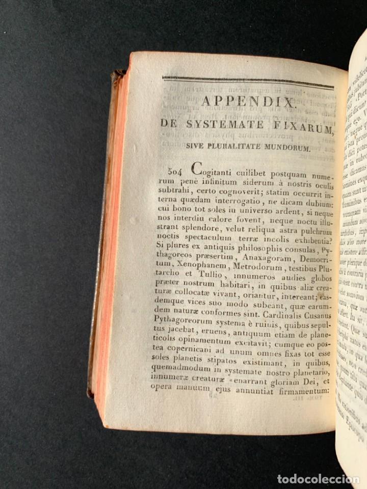 Libros antiguos: 1824 - Institutionum Elementaruym - Astronomia - Grabados - Guanajuato - Foto 10 - 143073562