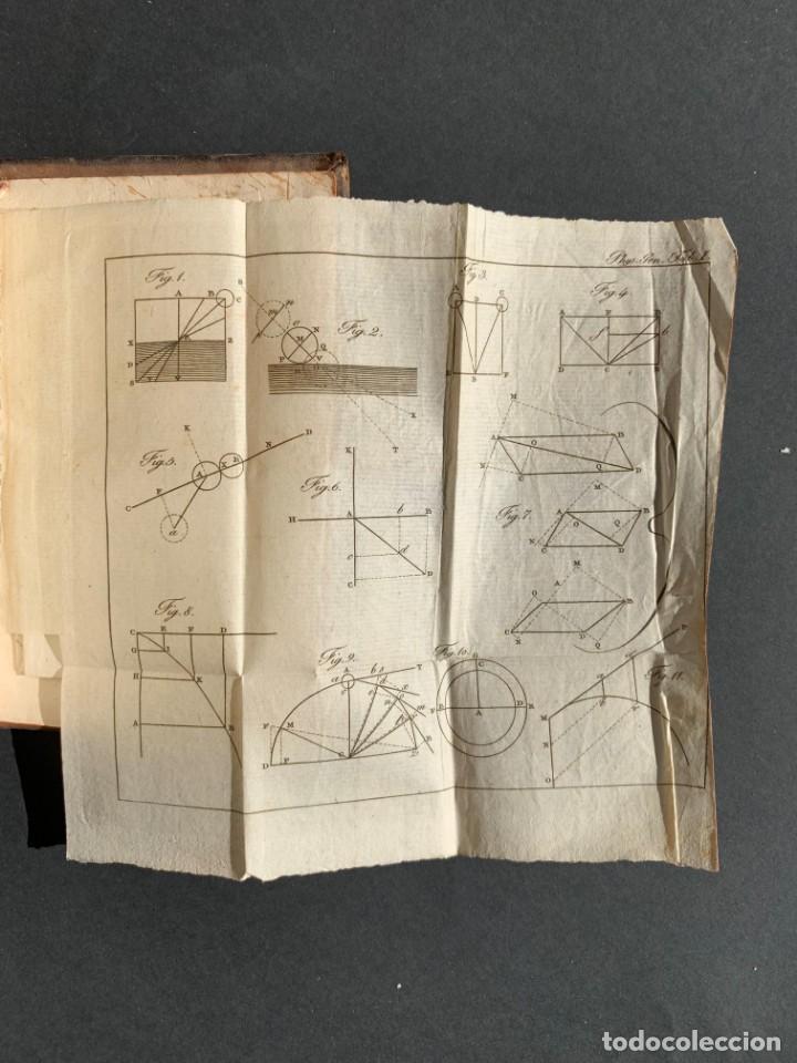 Libros antiguos: 1824 - Institutionum Elementaruym - Astronomia - Grabados - Guanajuato - Foto 12 - 143073562