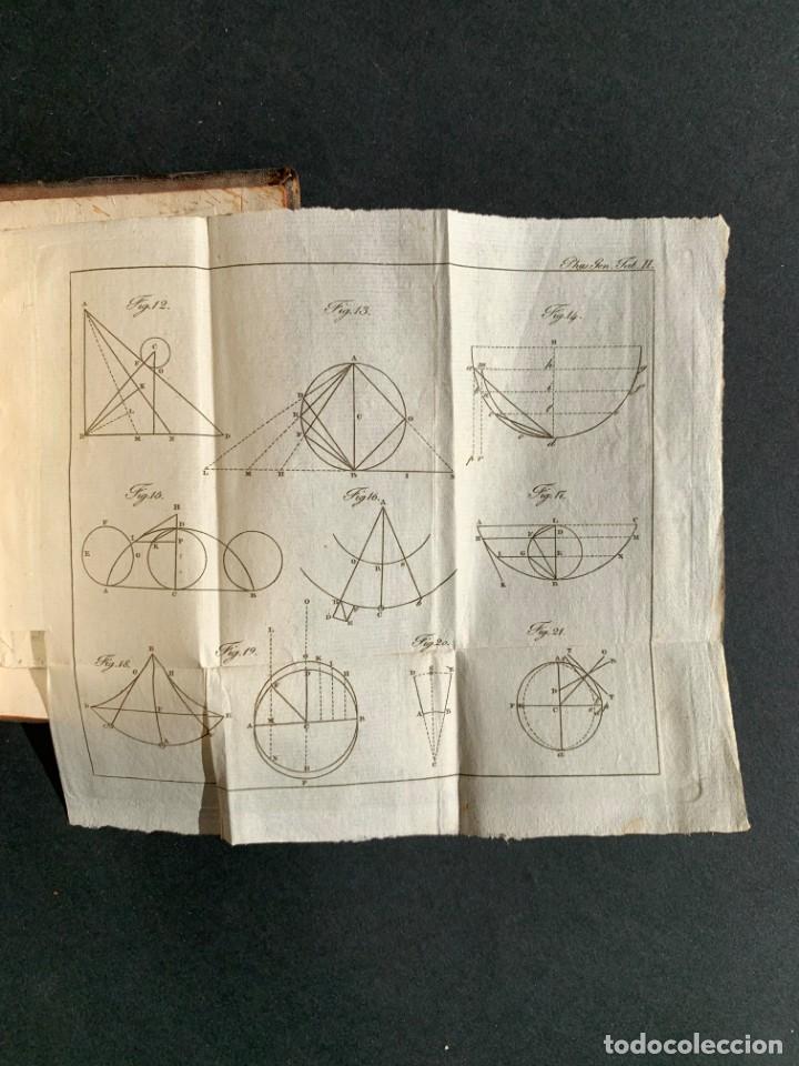 Libros antiguos: 1824 - Institutionum Elementaruym - Astronomia - Grabados - Guanajuato - Foto 13 - 143073562