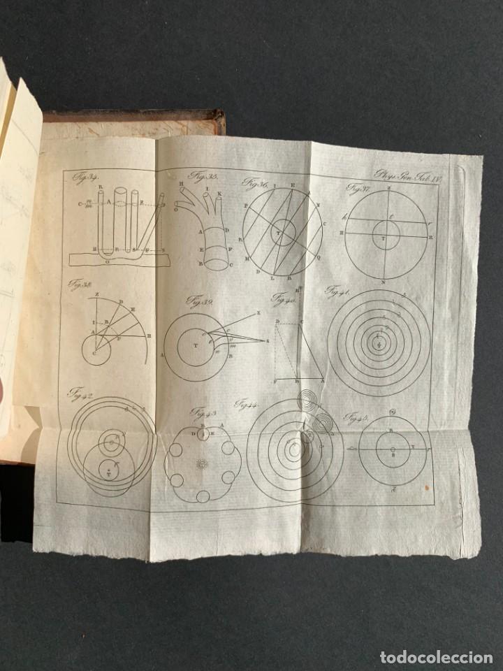 Libros antiguos: 1824 - Institutionum Elementaruym - Astronomia - Grabados - Guanajuato - Foto 17 - 143073562