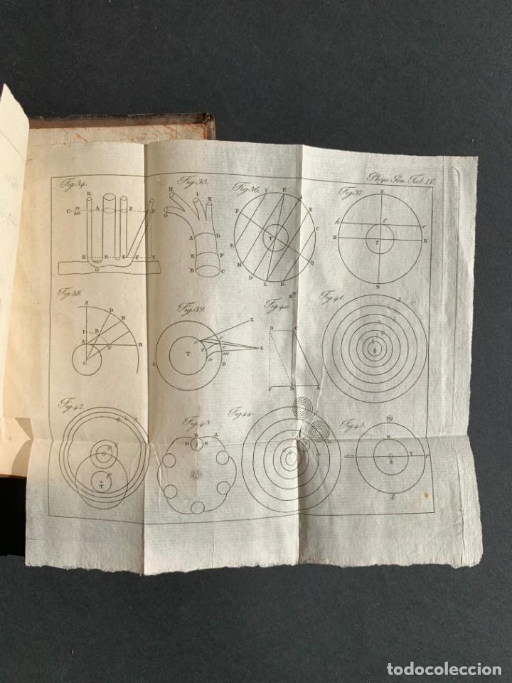 Libros antiguos: 1824 - Institutionum Elementaruym - Astronomia - Grabados - Guanajuato - Foto 18 - 143073562