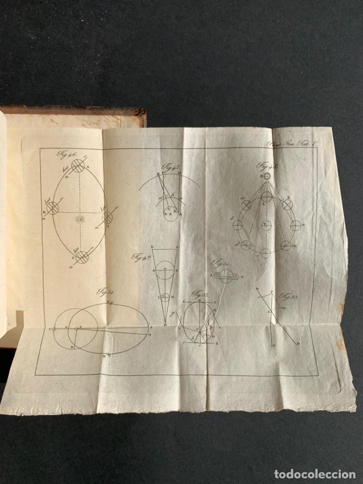 Libros antiguos: 1824 - Institutionum Elementaruym - Astronomia - Grabados - Guanajuato - Foto 19 - 143073562