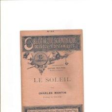 Libros antiguos: 3098. LE SOLEIL (SOL). Lote 143916922
