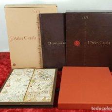 Libros antiguos: L'ATLES CATALÀ 1375. VV.AA. EDIT. ENCICLOPEDIA CATALANA. 2008. . Lote 144102006