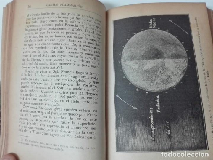 Libros antiguos: Astronomia popular Flammarion Jose Comas Sola 1906 ilustrado - Foto 6 - 146273966