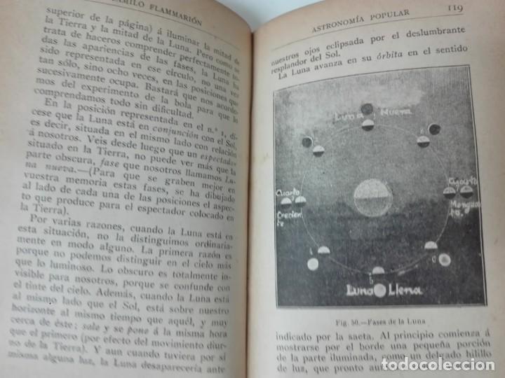 Libros antiguos: Astronomia popular Flammarion Jose Comas Sola 1906 ilustrado - Foto 7 - 146273966