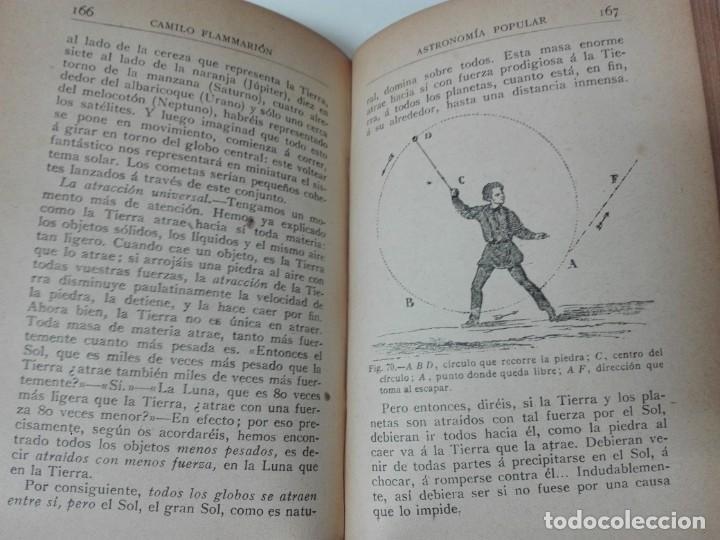 Libros antiguos: Astronomia popular Flammarion Jose Comas Sola 1906 ilustrado - Foto 8 - 146273966