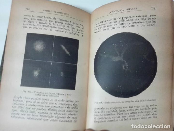 Libros antiguos: Astronomia popular Flammarion Jose Comas Sola 1906 ilustrado - Foto 9 - 146273966