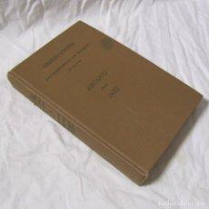 Libros antiguos: ANUARIO DEL OBSERVATORIO ASTRONÓMICO DE MADRID 1922. Lote 148978106