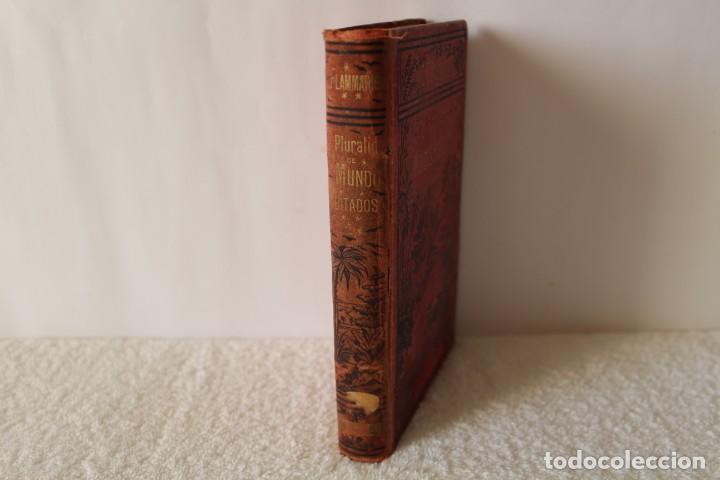 LA PLURALIDAD DE MUNDOS HABITADOS. CAMILO FLAMMARION - CH. BOURET 1879 (Libros Antiguos, Raros y Curiosos - Ciencias, Manuales y Oficios - Astronomía)