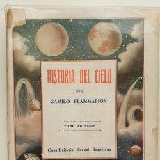Libros antiguos: HISTORIA DEL CIELO DE CAMILO FLAMMARION II TOMOS. Lote 150262374