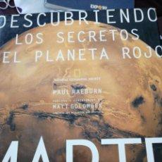 Livros antigos: DESCUBRIENDO LOS SECRETOS DEL PLANETA ROJO. MARTE. NATIONAL GEOGRAPHIC SOCIETY . Lote 150337886