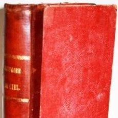 Libros antiguos: HISTOIRE DU CIEL - FLAMMARION, CAMILLE. Lote 139048026