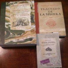 Libros antiguos: 3 FACSÍMILES DE 1AS ED. DE LIBROS RELATIVOS A LA ASTRONOMÍA (1545, 1748 & 1866). JORGE JUAN. Lote 220890378