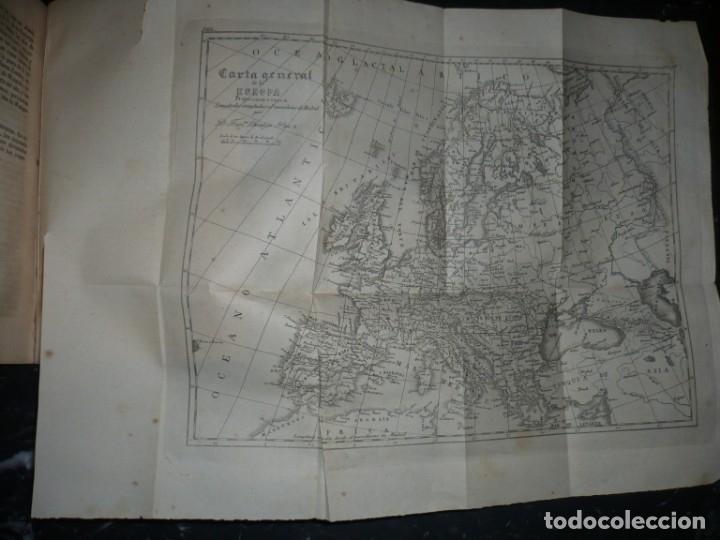 Libros antiguos: PRINCIPIOS DE GEOGRAFIA ASTRONOMICA FISICA Y POLITICA FRANCISCO VERDEJO PAEZ 1854 MADRID - Foto 8 - 152231742