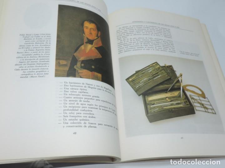 Libros antiguos: Libro de Astronomía y Cartografía de los siglos XVIII y XIX. - VV.AA. Observatorio Astronómico Nacio - Foto 2 - 155092902