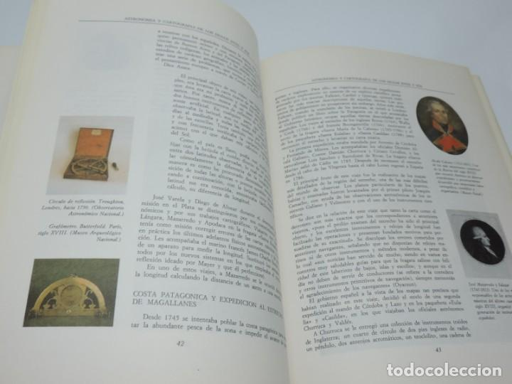 Libros antiguos: Libro de Astronomía y Cartografía de los siglos XVIII y XIX. - VV.AA. Observatorio Astronómico Nacio - Foto 3 - 155092902