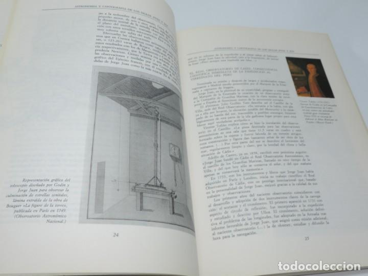 Libros antiguos: Libro de Astronomía y Cartografía de los siglos XVIII y XIX. - VV.AA. Observatorio Astronómico Nacio - Foto 4 - 155092902
