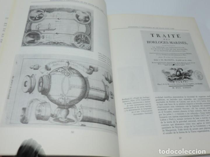 Libros antiguos: Libro de Astronomía y Cartografía de los siglos XVIII y XIX. - VV.AA. Observatorio Astronómico Nacio - Foto 5 - 155092902
