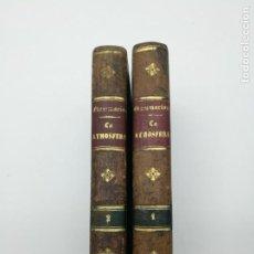 Libros antiguos: LA ATMÓSFERA DE CAMILE FLAMMARION 1884. Lote 155432586