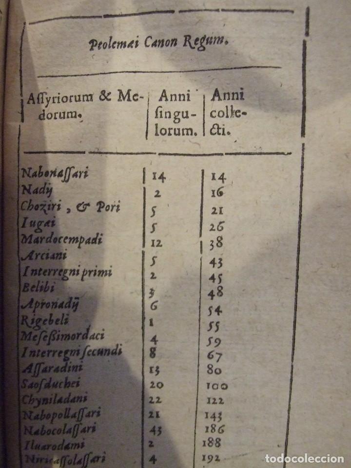 Libros antiguos: ALMANAQUE DIONYSI PETAVI AURELIANENSIS RATIONARIUM - SEBASTIANI CRAMISY PARISIS 1641 MDCXLI - Foto 8 - 142349894