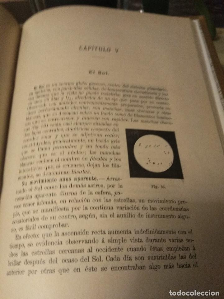 Libros antiguos: Castro Pulido. Elementos de cosmografia y astronomía. 1901 - Foto 2 - 159591962