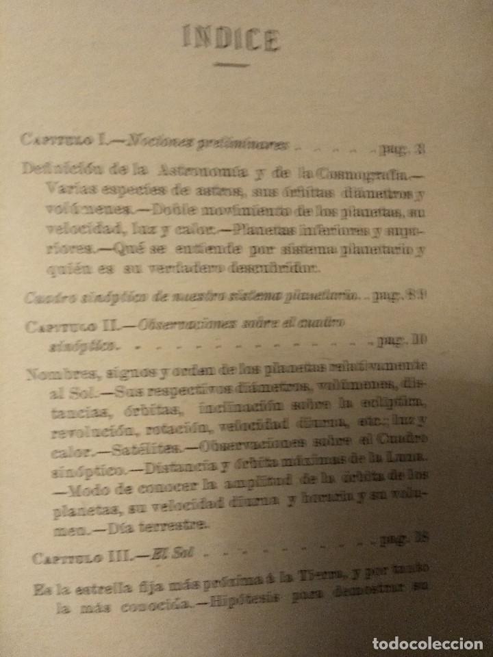 Libros antiguos: Biagio, P. y M. La Leta. Cosmografía. Ca 1900. Astronomía - Foto 3 - 159593050