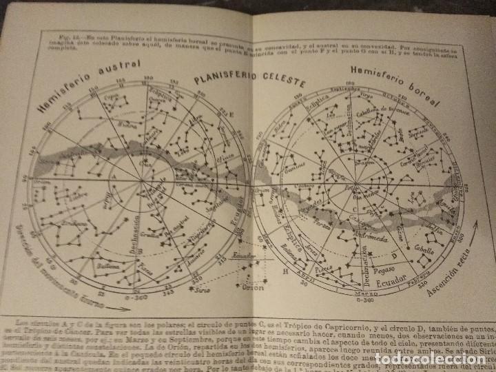 Libros antiguos: Biagio, P. y M. La Leta. Cosmografía. Ca 1900. Astronomía - Foto 4 - 159593050