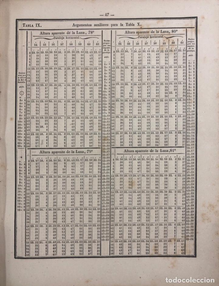 Libros antiguos: COLECCION COMPLETA DE TABLAS DE NAVEGACION DE MENDOZA. MADRID, 1973. PAGS 548. - Foto 7 - 159625298