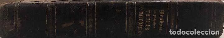 Libros antiguos: COLECCION COMPLETA DE TABLAS DE NAVEGACION DE MENDOZA. MADRID, 1973. PAGS 548. - Foto 11 - 159625298
