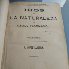 Libros antiguos: CAMILO FLAMMARION. VARIOS TITULOS. 1886.EN UN SOLO LIBRO. Lote 159894880