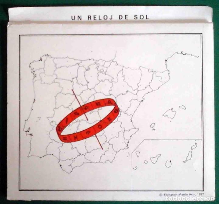 Libros antiguos: Reloj de sol - Fernando Martín Asín, 1987 - Foto 11 - 162125010