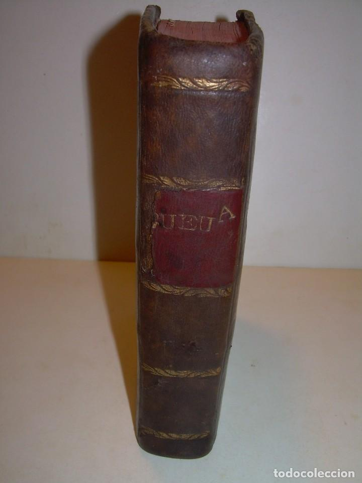 Libros antiguos: LIBRO TAPAS DE PIEL..ASTRONOMIA - FISICA - HIDROESTATICA, ETC. CON 5 LAMINAS DESPLEGABLES..AÑO 1824. - Foto 2 - 162140238