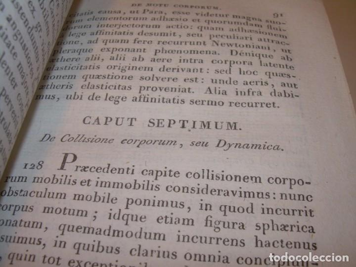 Libros antiguos: LIBRO TAPAS DE PIEL..ASTRONOMIA - FISICA - HIDROESTATICA, ETC. CON 5 LAMINAS DESPLEGABLES..AÑO 1824. - Foto 5 - 162140238