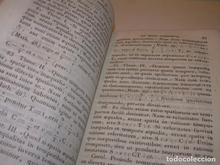 Libros antiguos: LIBRO TAPAS DE PIEL..ASTRONOMIA - FISICA - HIDROESTATICA, ETC. CON 5 LAMINAS DESPLEGABLES..AÑO 1824. - Foto 6 - 162140238