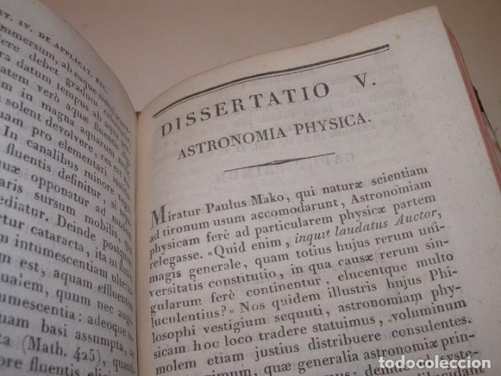 Libros antiguos: LIBRO TAPAS DE PIEL..ASTRONOMIA - FISICA - HIDROESTATICA, ETC. CON 5 LAMINAS DESPLEGABLES..AÑO 1824. - Foto 9 - 162140238