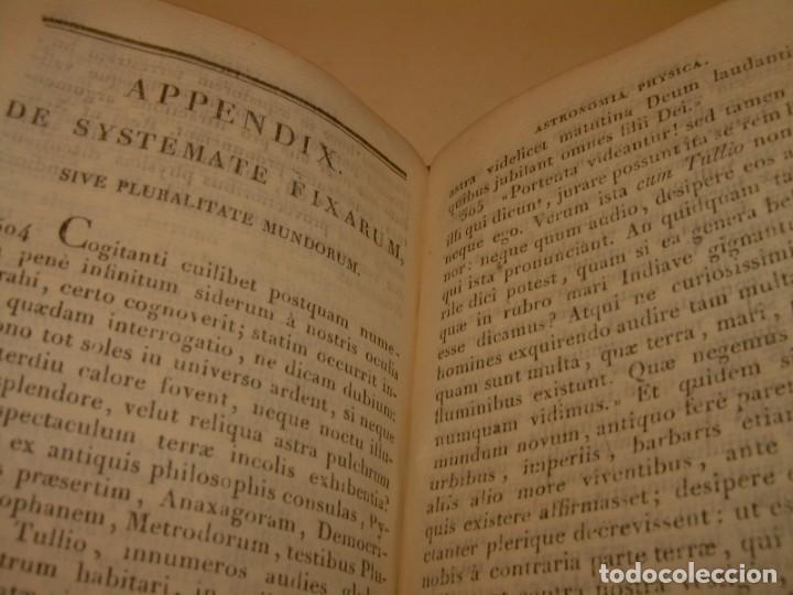 Libros antiguos: LIBRO TAPAS DE PIEL..ASTRONOMIA - FISICA - HIDROESTATICA, ETC. CON 5 LAMINAS DESPLEGABLES..AÑO 1824. - Foto 10 - 162140238